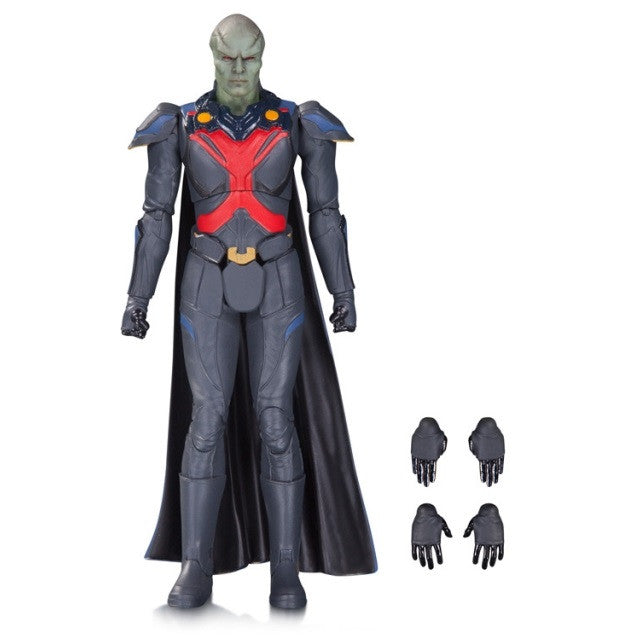 "DC TV Show - Supergirl - Martian Manhunter 6"" Action Figure - DC Collectibles - Woozy Moo"