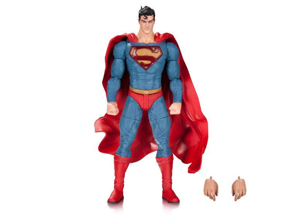 DC Comics Designer Series Superman Action Figure by Lee Bermejo - DC Collectibles - Woozy Moo