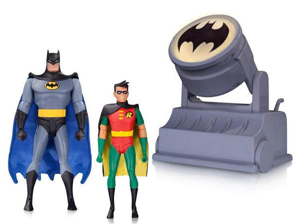 Batman Animated Series - Batman & Robin with Batsignal Two-Pack - DC Collectibles - Woozy Moo - 1