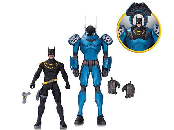DC Comics Designer Series Batman Two Pack Action Figure by Greg Capullo - DC Collectibles - Woozy Moo