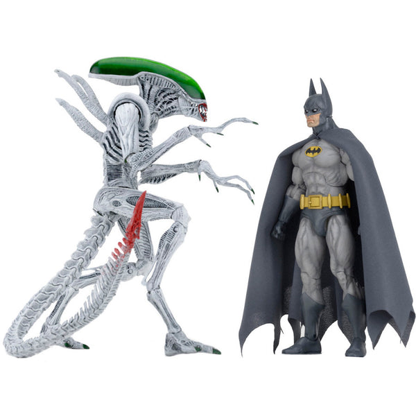 "DC - Batman vs Alien 2-Pack 7"" Scale Action Figures - NECA - Woozy Moo"