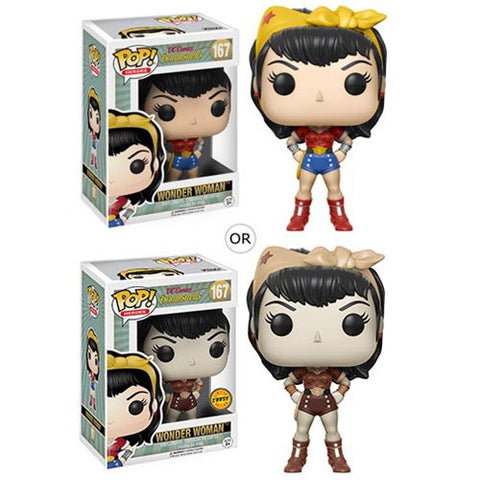 Wonder Woman DC Bombshells Pop! Vinyl Figure with chase