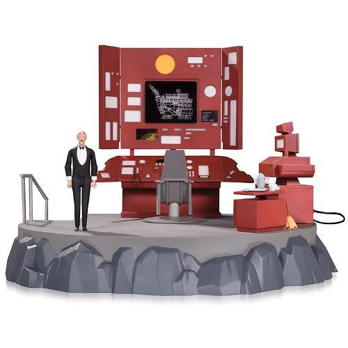 DC - Batman The Animated Series - Batcave with Alfred Playset - DC Collectibles - Woozy Moo