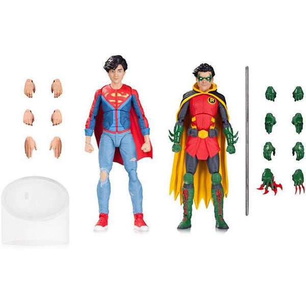 "DC Icons - Robin & Superboy 6"" Figures 2-Pack - DC Collectibles - Woozy Moo"