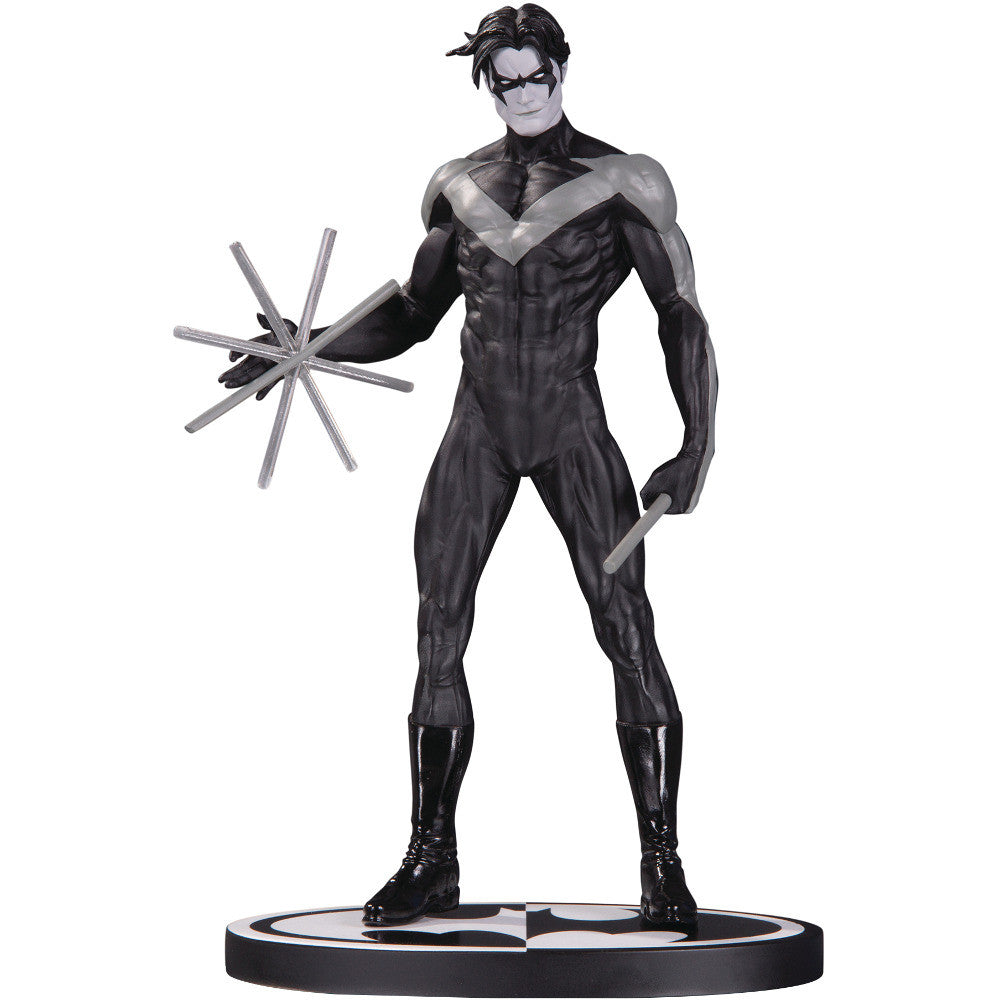 DC Batman Hush Nightwing Black & White Statue by Jim Lee Limited Edition - DC Collectibles - Woozy Moo