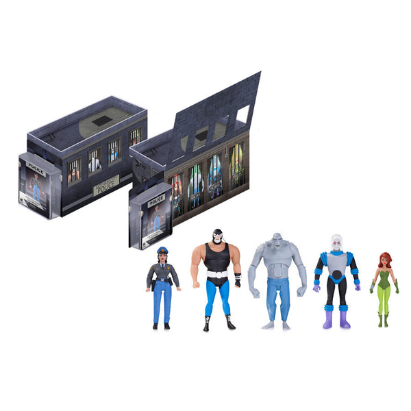DC Batman The Animated Series GCPD Rogues Gallery Action Figure 5-pack - DC Collectibles - Woozy Moo