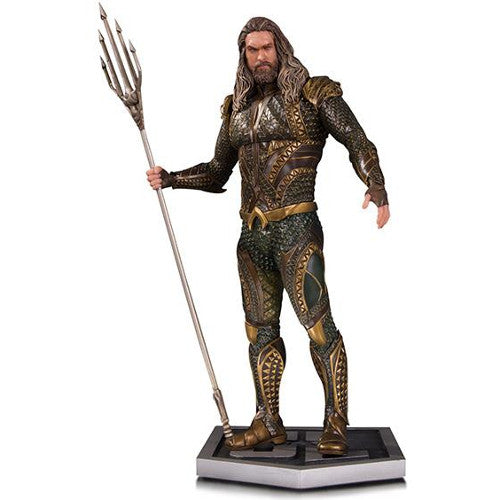 DC Film - Justice League - Aquaman 1/6 Scale Statue - Limited Edition - DC Collectibles - Woozy Moo