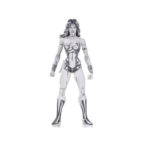 DC Comics Wonder Woman Blueline Edition Action Figure by Jim Lee - DC Collectibles - Woozy Moo