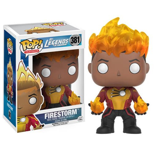 DC's Legends of Tomorrow Firestorm Pop! Vinyl Figure - Funko - Woozy Moo