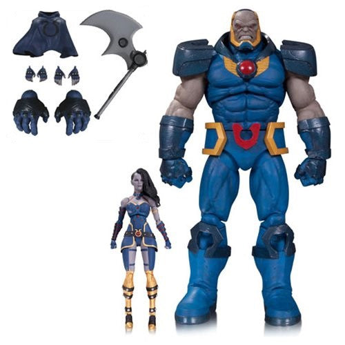 "DC Comics Icons Darkseid & Grail Two Pack Deluxe 6"" Figure - DC Collectibles - Woozy Moo"