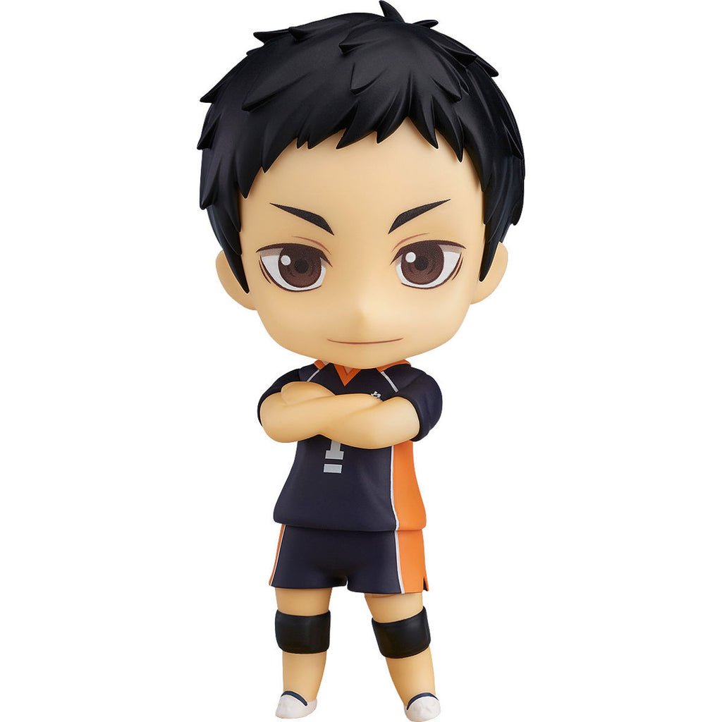 Sawamura Daichi - Haikyu!! (ハイキュー!!, Haikyū!!, Haikyuu!!) - Nendoroid 772 - Orange Rouge (Good Smile Company) - Woozy Moo