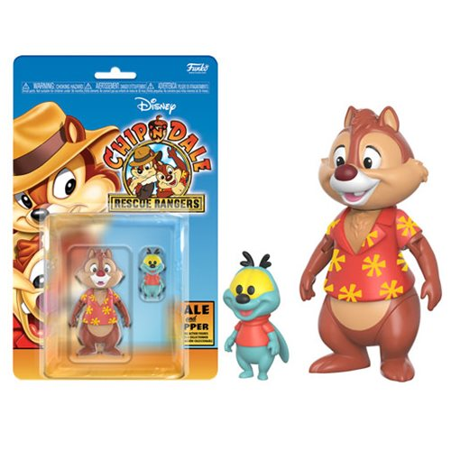 "Dale and Zipper | The Disney Afternoon Collection: Chip 'n' Dale: Rescue Rangers | 3.75"" Action Figure 