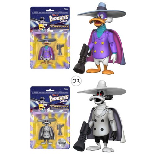 "Darkwing Duck (with chance of CHASE) | The Disney Afternoon Collection: Darkwing Duck | 3.75"" Action Figure 