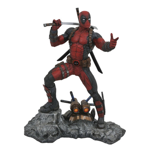 "Deadpool Marvel Premier Collection 12"" Resin Statue Limited Edition"