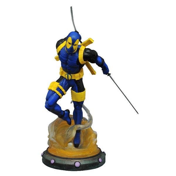 Deadpool Variant (SDCC 2017, Exclusive) - X-Men - Marvel Gallery PVC Figure Statue - Diamond Select Toys - Woozy Moo