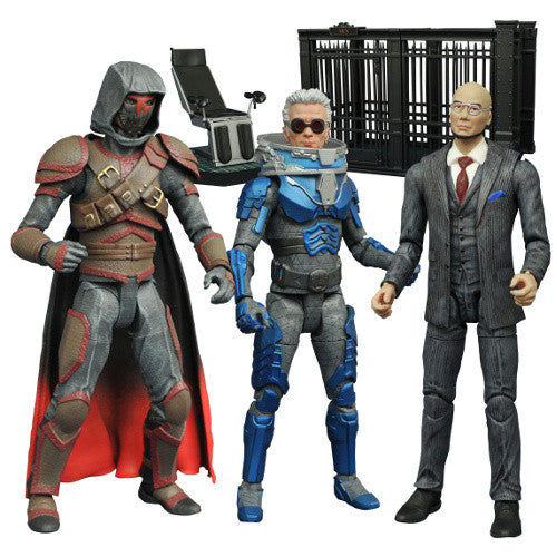 DC Gotham Select TV Series 4 Action Figure Set of 3 - Diamond Select - Woozy Moo