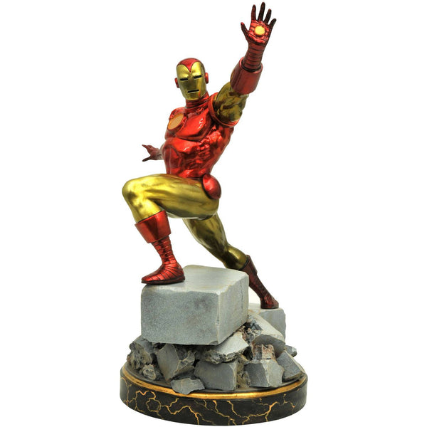 Marvel Premier Collection Resin Statue - Iron Man (Classic) - Limited Edition - Diamond Select Toys - Woozy Moo