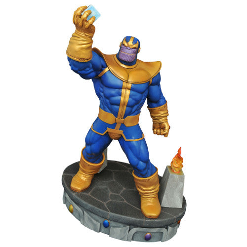 Marvel Premier Collection Statue - Thanos - Diamond Select - Woozy Moo
