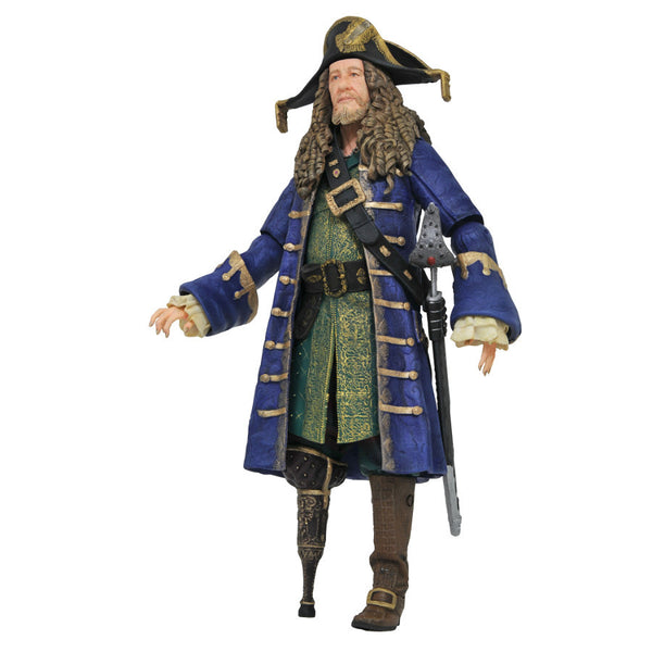 "Barbossa - Pirates of the Caribbean: Dead Men Tell No Tales - 7"" scale action figure - Diamond Select Toys - Woozy Moo"