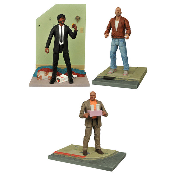 "Pulp Fiction - 7"" scale action figure series 1 assortment of 3 - Diamond Select Toys - Woozy Moo"