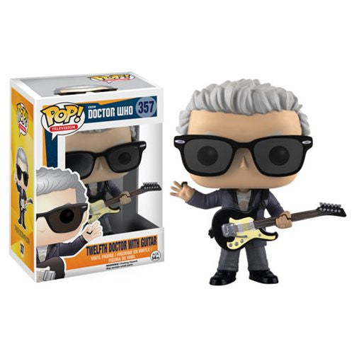 Doctor Who 12th Doctor Pop (with Guitar) Pop! Vinyl Figure - Funko - Woozy Moo