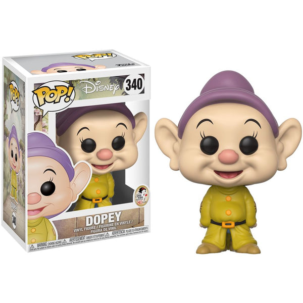 Dopey | Snow White and the Seven Dwarfs (1937) | POP! Disney Vinyl Figure 340 | Funko | Woozy Moo