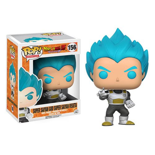 Dragon Ball Z Resurrection F Super Saiyan God Super Saiyan Vegeta Pop! Vinyl Figure - Funko - Woozy Moo