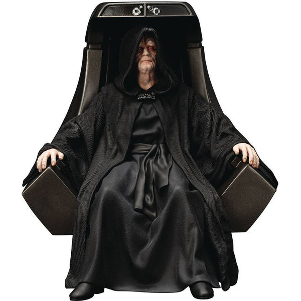 Emperor Palpatine | Star Wars: Episode VI – Return of the Jedi | ArtFX+ 1/10 scale statue | Kotobukiya | Woozy Moo