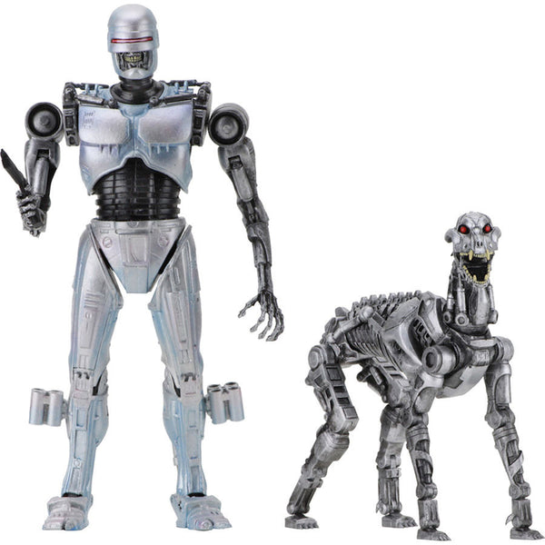 "EndoCop Terminator Dog RoboCop vs The Terminator 7"" scale action figures 2-pack"