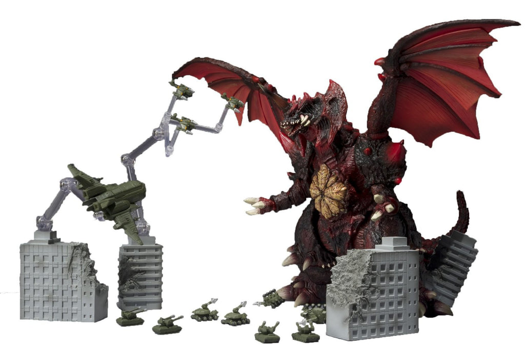 TOHO Ultimate Weapon 2 Set - S.H.MonsterArts - Bandai - Woozy Moo - 1