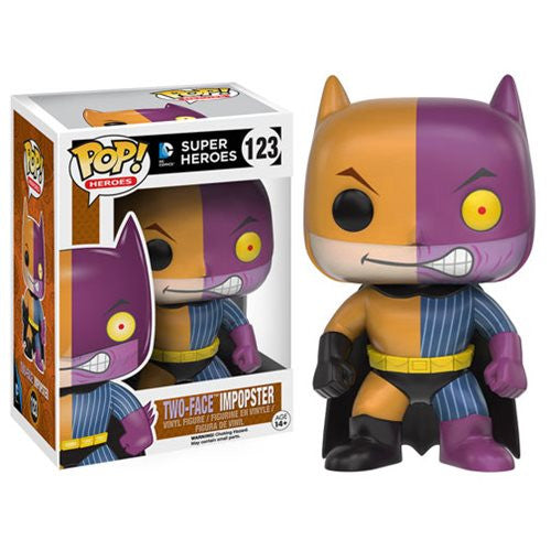 Batman Impopster DC Comics: Batman Two-Face Pop! Vinyl Figure - Funko - Woozy Moo