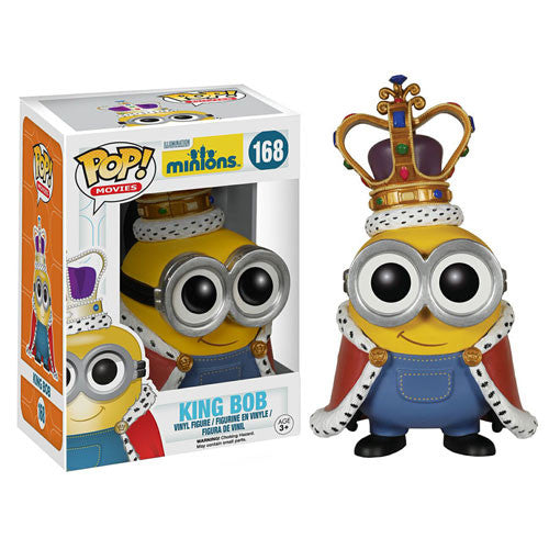 Despicable Me Minions Movie Minion King Pop! Vinyl Figure - Funko - Woozy Moo