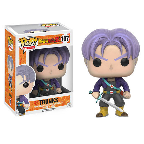 Dragon Ball Z Trunks Pop! Vinyl Figure - Funko - Woozy Moo