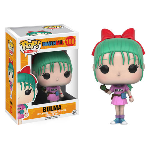 Dragon Ball Bulma Pop! Vinyl Figure - Funko - Woozy Moo
