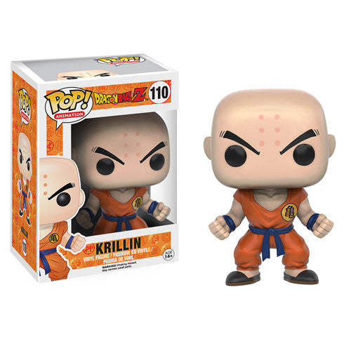 Dragon Ball Z Krillin Pop! Vinyl Figure - Funko - Woozy Moo
