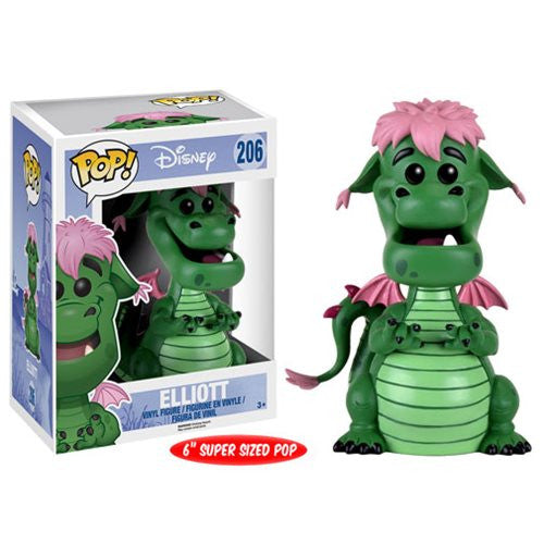 Pete's Dragon Elliott 6-Inch Pop! Disney Vinyl Figure - Funko - Woozy Moo