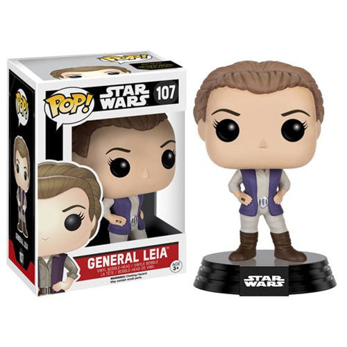 Star Wars: The Force Awakens General Leia Pop! Vinyl Figure - Funko - Woozy Moo