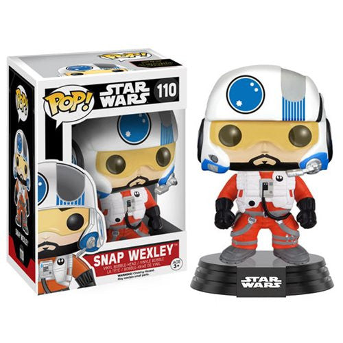 Star Wars: The Force Awakens Snap Wexley Pop! Vinyl Figure - Funko - Woozy Moo