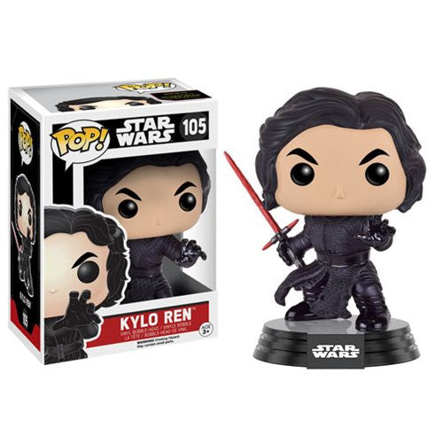 Star Wars: The Force Awakens Unmasked - Battle-Damaged Kylo Ren Pop! Vinyl Figure - Funko - Woozy Moo