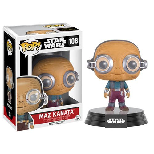 Star Wars: The Force Awakens Maz Kanata Pop! Vinyl Figure - Funko - Woozy Moo