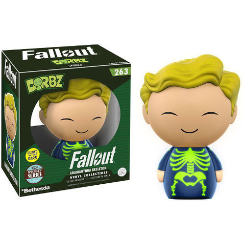 Fallout - Dorbz Vinyl Figure - Adamantium Skeleton - Exclusive