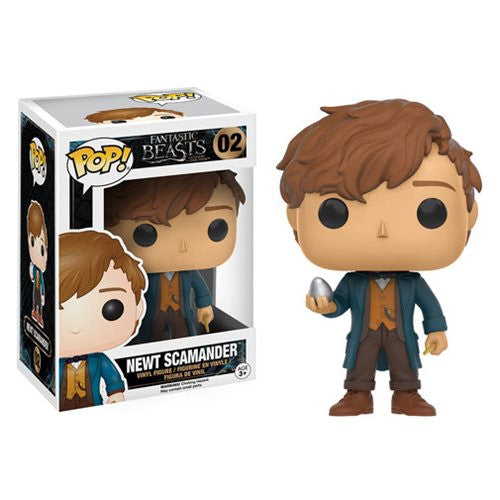 Fantastic Beasts and Where to Find Them - Newt Scamander with Egg Pop! Vinyl Figure - Funko - Woozy Moo