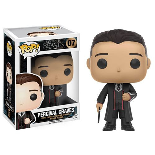 Fantastic Beasts and Where to Find Them - Percival Graves Pop! Vinyl Figure - Funko - Woozy Moo
