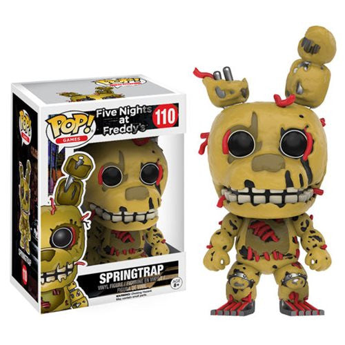 Five Nights at Freddy's Springtrap Pop! Vinyl Figure - Funko - Woozy Moo