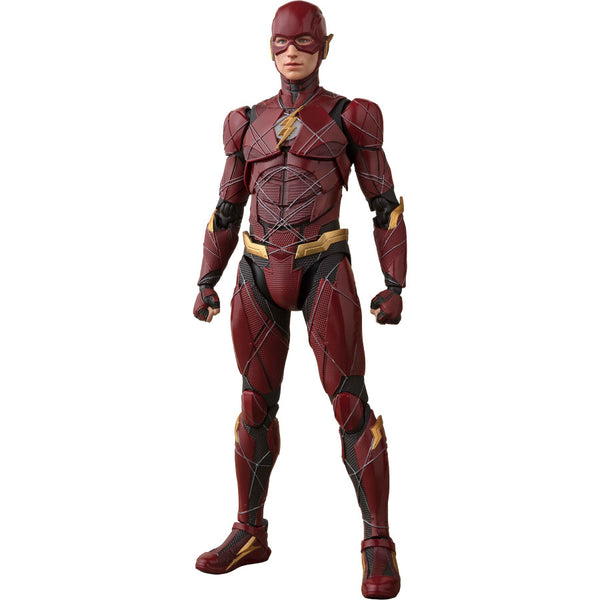 The Flash (Ezra Miller as Barry Allen) | Justice League (2017, DC Extended Universe) | S.H.Figuarts | Bandai Tamashii Nations | Woozy Moo