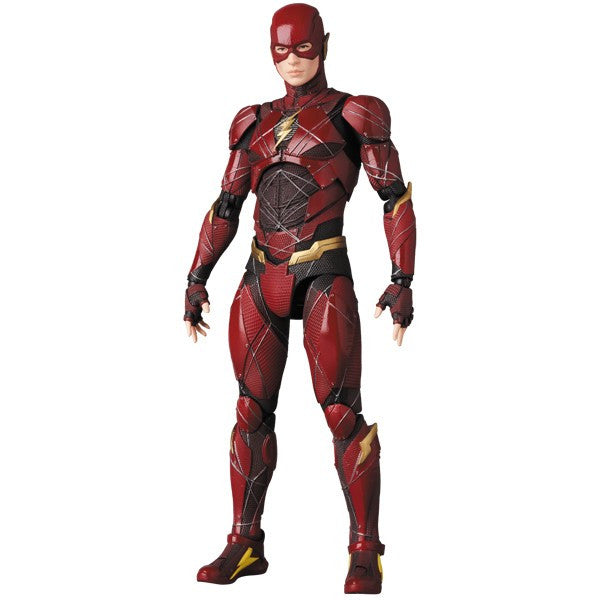 The Flash (Ezra Miller) | Justice League (DC Cinematic Universe) | MAFEX No. 058 (Miracle Action Figure) | Medicom | Woozy Moo