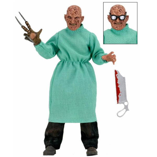 "Nightmare on Elm Street - 8"" Clothed Figure - Surgeon Freddy - NECA - Woozy Moo - 1"