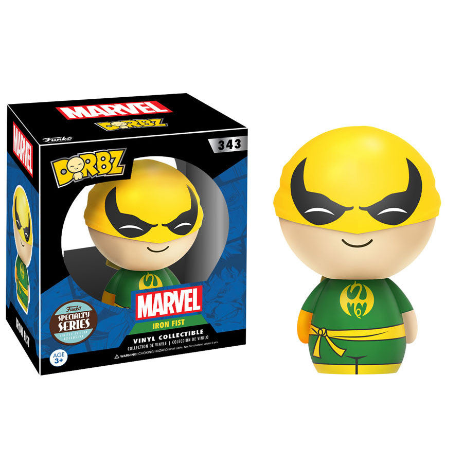 Iron Fist - Marvel - Dorbz Vinyl Collectible - Specialty Series - Funko - Woozy Moo