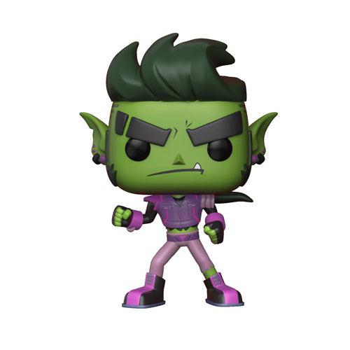 Funko POP! Television Teen Titans Go! The Night Begins to Shine S1 Beast Boy Vinyl Figure | Woozy Moo
