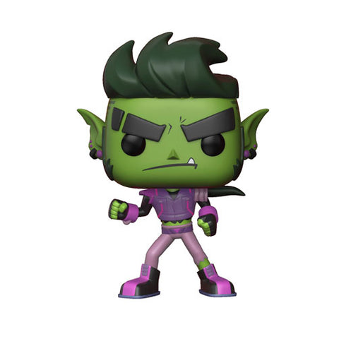 Beast Boy POP! TV Teen Titans Go The Night Begins To Shine S1 Vinyl Figure